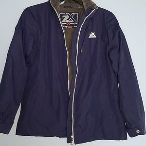 Zeroxposur jacket blue